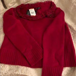 Anne Klein cashmere sweater size Small